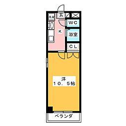 プログレッソ岩塚[4階]の間取り