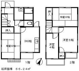 [一戸建] 埼玉県新座市野寺3丁目 の賃貸【/】の間取り