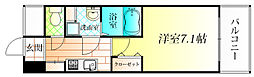 シェモア藤井寺駅前[6階]の間取り
