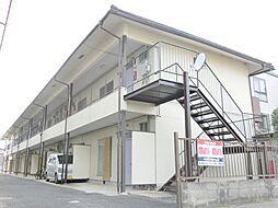 滋賀県草津市野村1丁目の賃貸アパートの外観