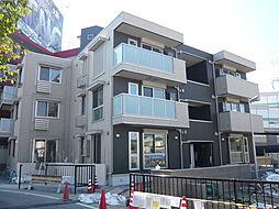 大阪府豊中市山ノ上町の賃貸アパートの外観