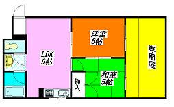 メゾン・それいゆ103号室[1階]の間取り