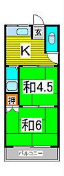 清宮住宅[1階]の間取り