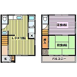 [一戸建] 兵庫県神戸市東灘区御影塚町2丁目 の賃貸【/】の間取り