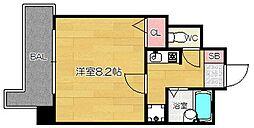 福岡県福岡市南区大橋4丁目の賃貸マンションの間取り