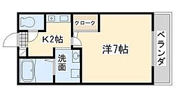 セジュールMATUFUJI[1階]の間取り