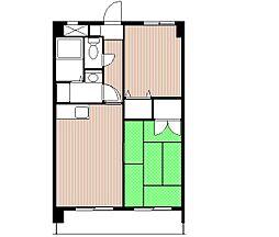トゥリアノンマンション[4階]の間取り