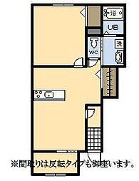 (新築)パーク・ハイム[103号室]の間取り