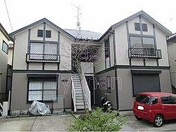 東京都目黒区柿の木坂3丁目の賃貸アパートの外観