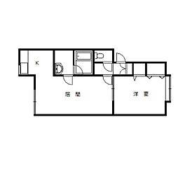 チェリー15.5A[2階]の間取り