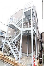 東京都足立区西新井5丁目の賃貸アパートの外観