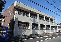 東京都青梅市大門1丁目の賃貸アパートの外観