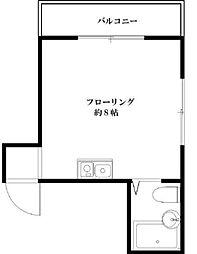 マンション藍[302号室]の間取り