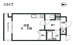 パサディナパーク[2階]の間取り