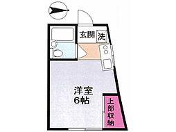 第二小坂荘[2階]の間取り