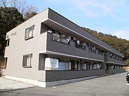 静岡県三島市徳倉3丁目の賃貸アパートの外観
