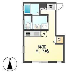ピアチエーレ桜[2階]の間取り