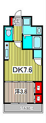 アクシーズタワー川口VIII[6階]の間取り