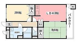 レジデンス甲子園口[103号室]の間取り