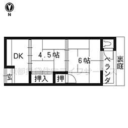 わか葉荘[2F-11号室]の間取り