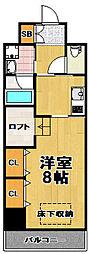 ARROWFIELDS弐番館[2階]の間取り