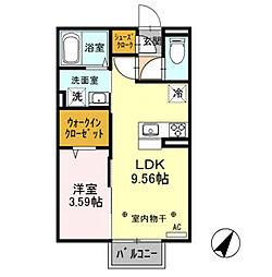 セラヴィ /[2階]の間取り