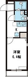 NKハウス[206号室号室]の間取り