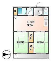 長栄ビル[3階]の間取り