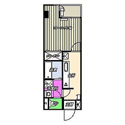 パークプラザ3[4階]の間取り