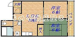 コスモスライフ[4階]の間取り