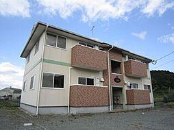福岡県古賀市米多比の賃貸アパートの外観