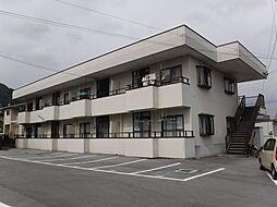 コーポ湖南[1階]の外観