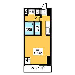 S-FORT六番町[7階]の間取り