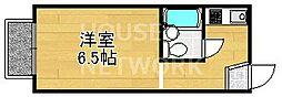 グローアップ京都[208号室号室]の間取り