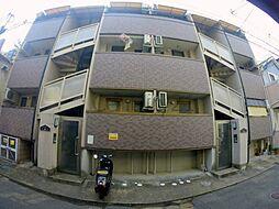 兵庫県川西市栄町の賃貸アパートの外観