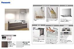 panasonic製システムキッチン新品交換(食洗機付)