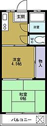 たちばなマンション[3階]の間取り