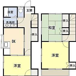 [テラスハウス] 神奈川県平塚市南原1丁目 の賃貸【/】の間取り