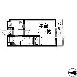 Ritz小阪(リッツ小阪)[206号室号室]の間取り