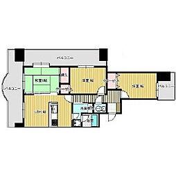 ライオンズマンションサンフラワー[12階]の間取り