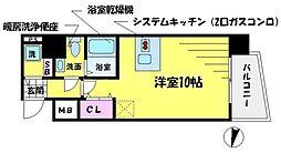 T's SQUARE 大阪城[12階]の間取り