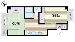 村田ビル[2階]の間取り