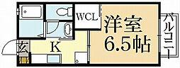 マリオット岡崎[2階]の間取り