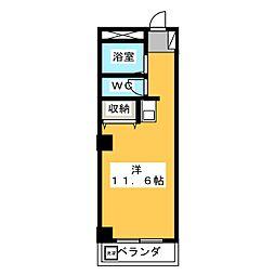 エリアスB[1階]の間取り