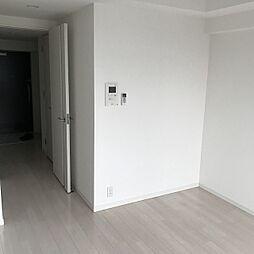 1Kの居間