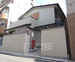 京都府京都市下京区吉文字町の賃貸アパートの外観