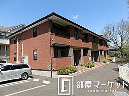 愛知県豊田市平戸橋町波岩の賃貸アパートの外観