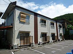 長野県諏訪市赤羽根の賃貸アパートの外観