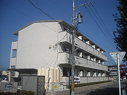 三重県鈴鹿市阿古曽町の賃貸アパートの外観