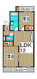 サンライトマンション[1階]の間取り